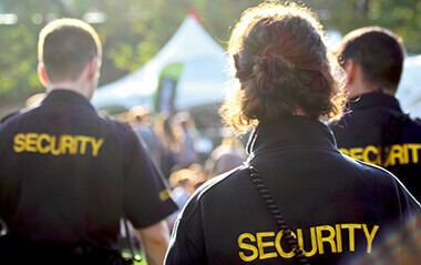 event security company in Nottingham